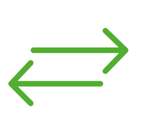 control and navigation icon